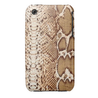 Brown Snake Skin iPhone 3G/3GS Barely There iPhone 3 Case