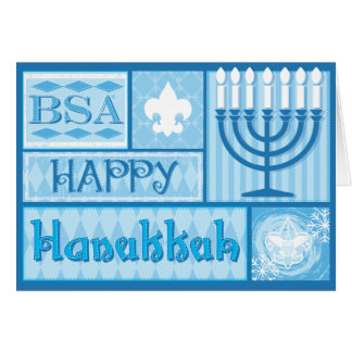 BSA/Happy Hanakkah Cards