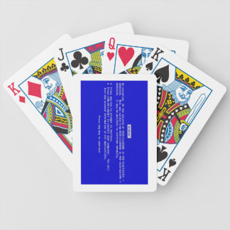 BSOD Playing Cards