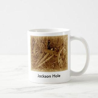 buckboard, Jackson Hole Basic White Mug