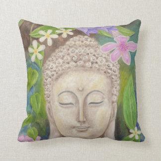 Buddha Flower throw pillow Throw Cushions