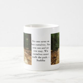 Buddha QUOTE about personal salvation and choices Basic White Mug