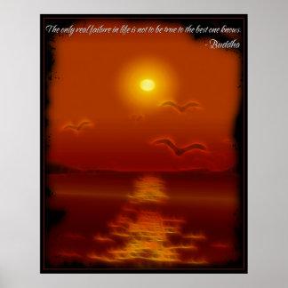 Buddha True Quote Poster