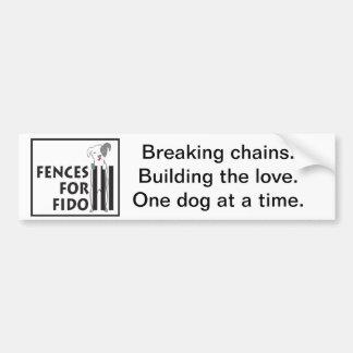 Building the Love bumper sticker
