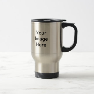 Bumper Sticker Stainless Steel Travel Mug