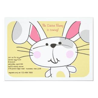 Bunny Face Invitation