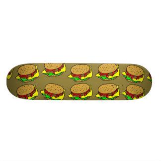 Burger Wallpaper 19.7 Cm Skateboard Deck