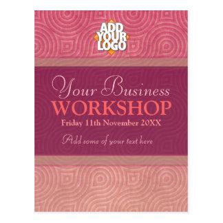 Business Seminar Workshop Invitation template Postcard