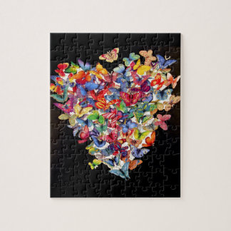 Butterfly Heart Puzzle