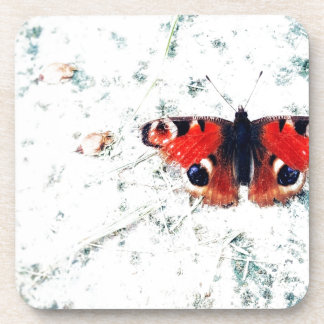 Butterfly prints Butterfly prints Beverage Coasters