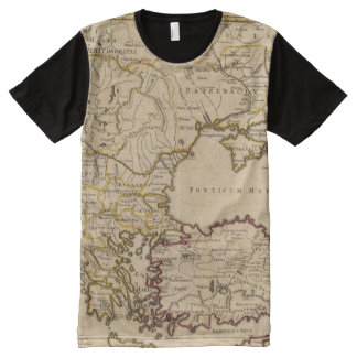 Byzantine Empire All-Over Print T-Shirt