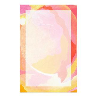 Cabbage Rose III Customised Stationery