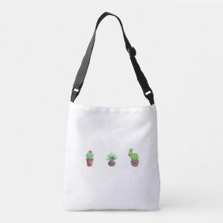 Cactus Design All-Over-Print Cross Body Bag Tote Bag