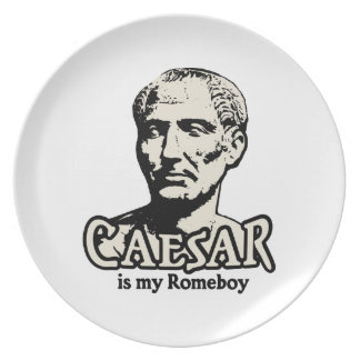 Caesar Romeboy Party Plates