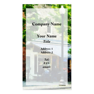 Cafe Albany NY Pack Of Standard Business Cards