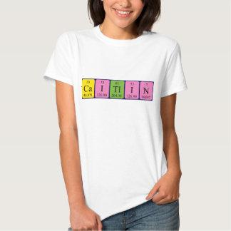 Caitlin periodic table name shirt