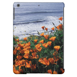 California, Big Sur Coast, California Poppy Cover For iPad Air