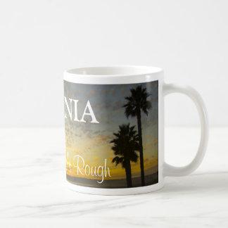 California - Life's Rough Basic White Mug