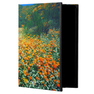 California Poppies and Popcorn wildflowers iPad Air Cases