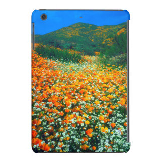California Poppies and Popcorn wildflowers iPad Mini Case