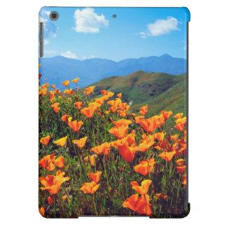 California poppies covering a hillside iPad air case