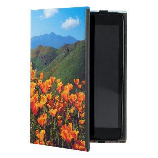 California poppies covering a hillside iPad mini case
