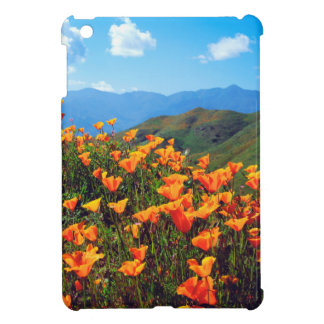 California poppies covering a hillside iPad mini cases