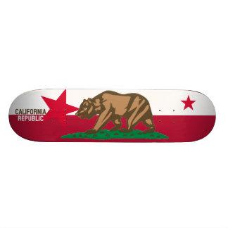 CALIFORNIA REPUBLIC State Flag Fitted Designs 21.3 Cm Mini Skateboard Deck