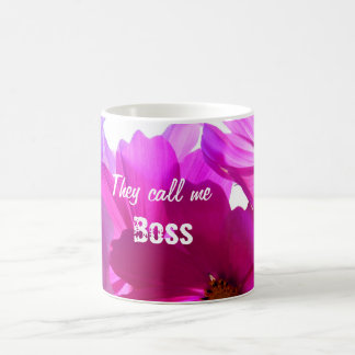 Call Me Boss Mug to Customize