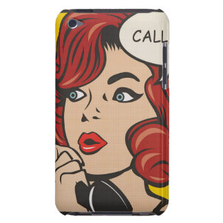 Call Me...Pop Art Print Case-Mate iPod Touch Case
