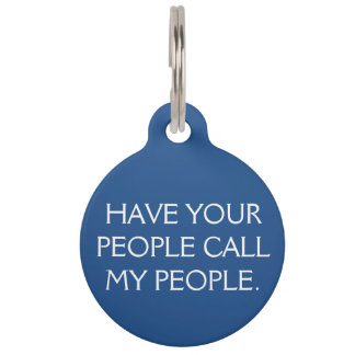 Call My People Tag Pet Name Tags