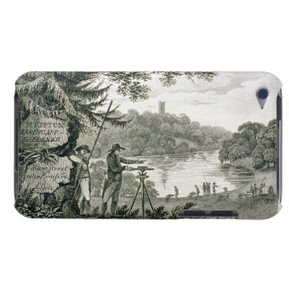 Calling card of Humphrey Repton, engraved by Thoma Barely There iPod Cases