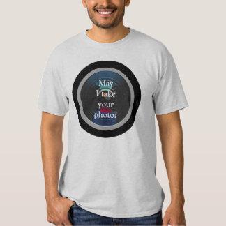 Camera Lens-Photo Studio Advertising T Shirt
