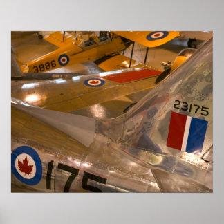 Canada, Alberta, Calgary: Aero Space Museum of Poster