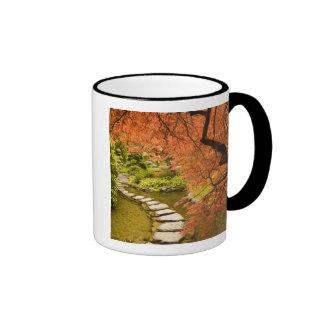 CANADA, British Columbia, Victoria. Autumn Ringer Mug