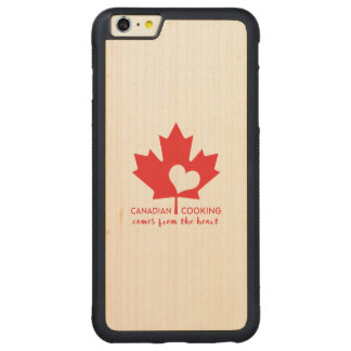Canadian Foodie Carved® Maple iPhone 6 Plus Bumper Case