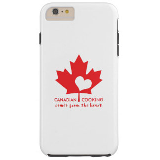 Canadian Foodie Tough iPhone 6 Plus Case