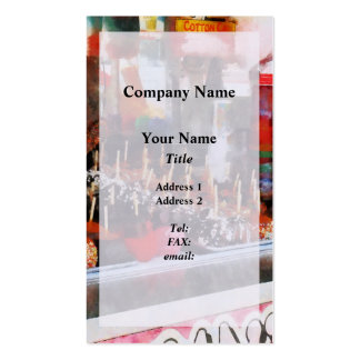 Candy Apples Pack Of Standard Business Cards