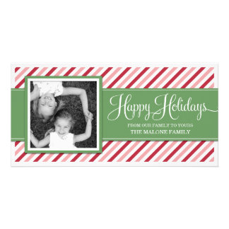 CANDY CAN STRIPES  | HOLIDAY PHOTO CARD