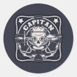 Capitan Round Sticker