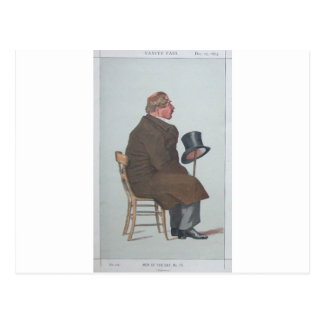 Caricature of Percy William Doyle C.B. by James Postcard