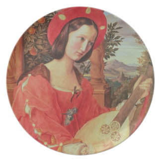 Carla Bianca von Quandt, c.1820 (oil on canvas) Plate