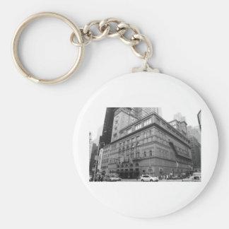 Carnegie Hall Basic Round Button Key Ring