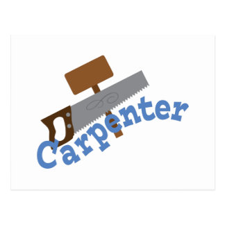 Carpenter Postcard