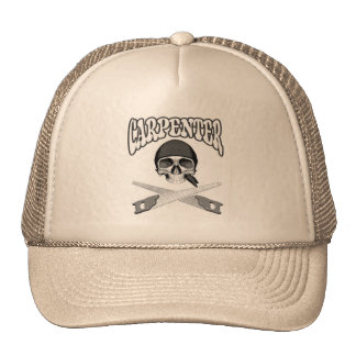 Carpenter Skull Handsaws Cap