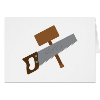 Carpenter Tools Greeting Card