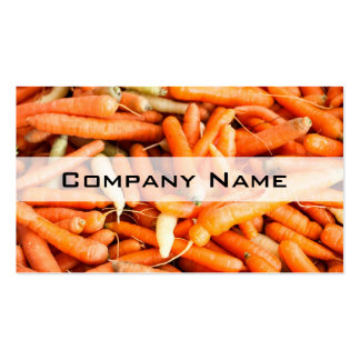 Carrots Pack Of Standard Business Cards