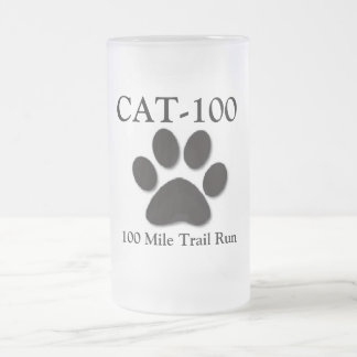 CAT-100 Beer Glass Frosted Glass Mug