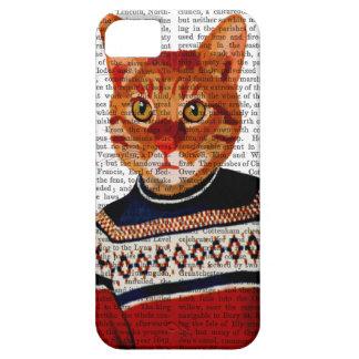Cat in Ski Sweater 2 iPhone 5 Case