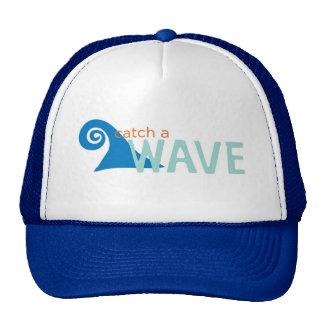 Catch a wave surfer cap